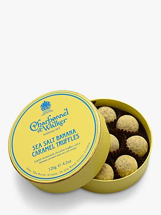 Charbonnel et Walker Sea Salt Banana Caramel Truffles, 120g