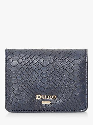 Dune Klear Small Fold Over Purse