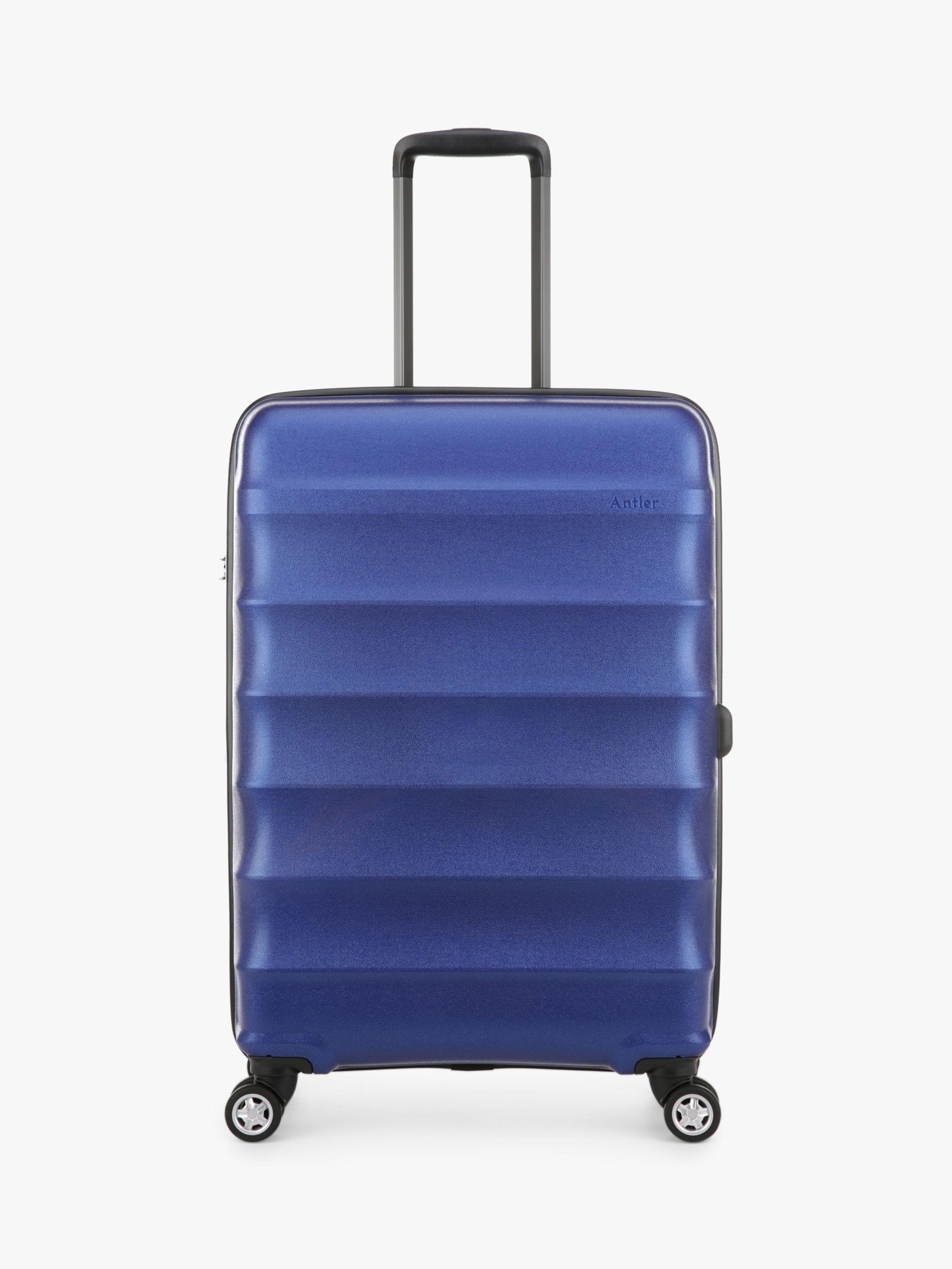 Antler Antler Juno Metallic DLX 4-Wheel 68cm Expandable Medium Suitcase