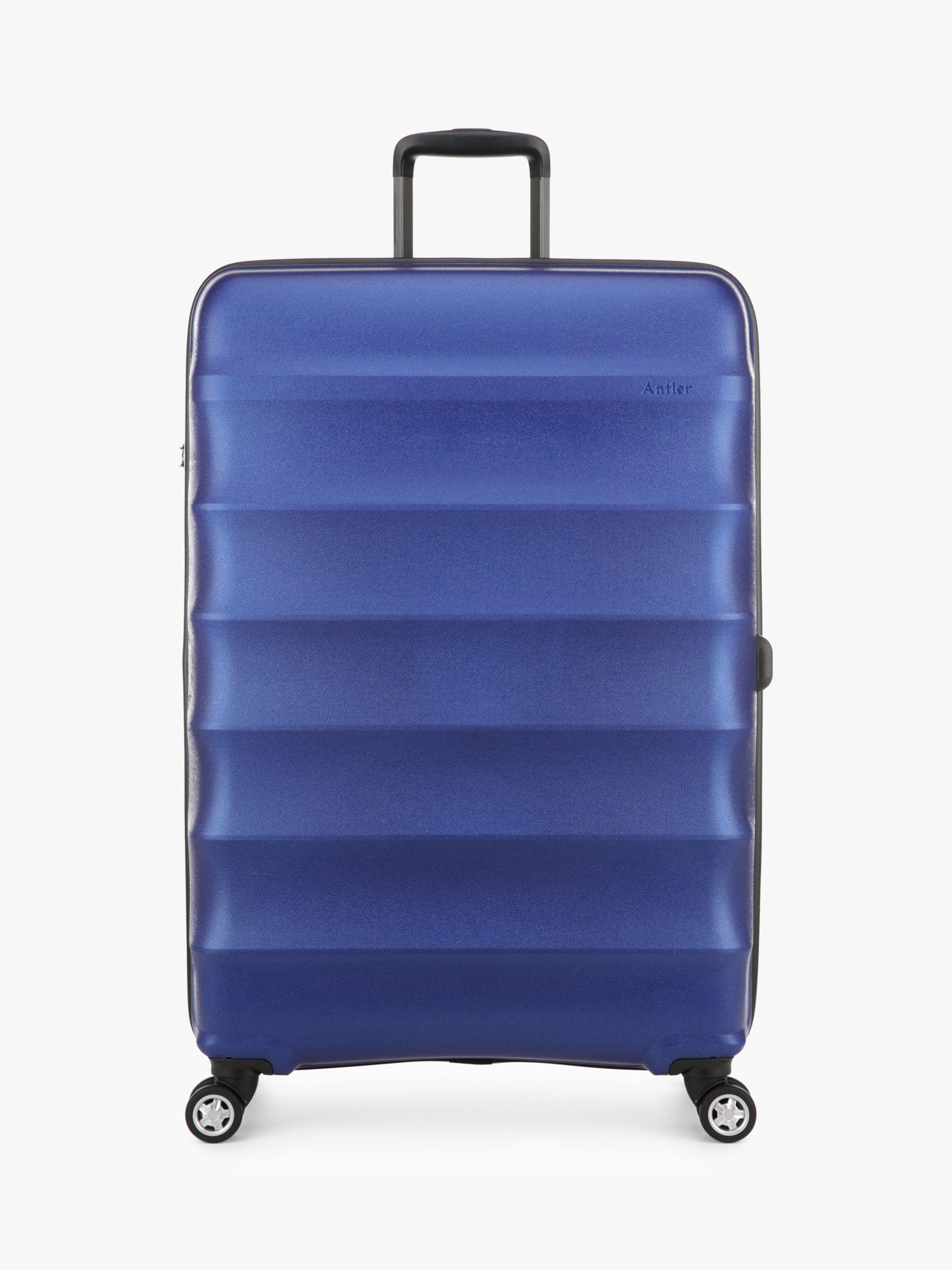 Antler Antler Juno Metallic DLX 4-Wheel 79cm Expandable Large Suitcase
