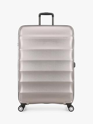 Antler Juno Metallic DLX 4-Wheel 79cm Expandable Large Suitcase