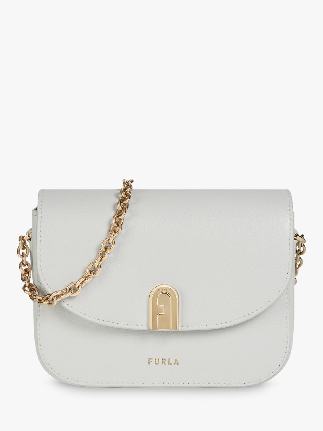 Furla Furla 1927 Leather Cross Body Bag, Talco
