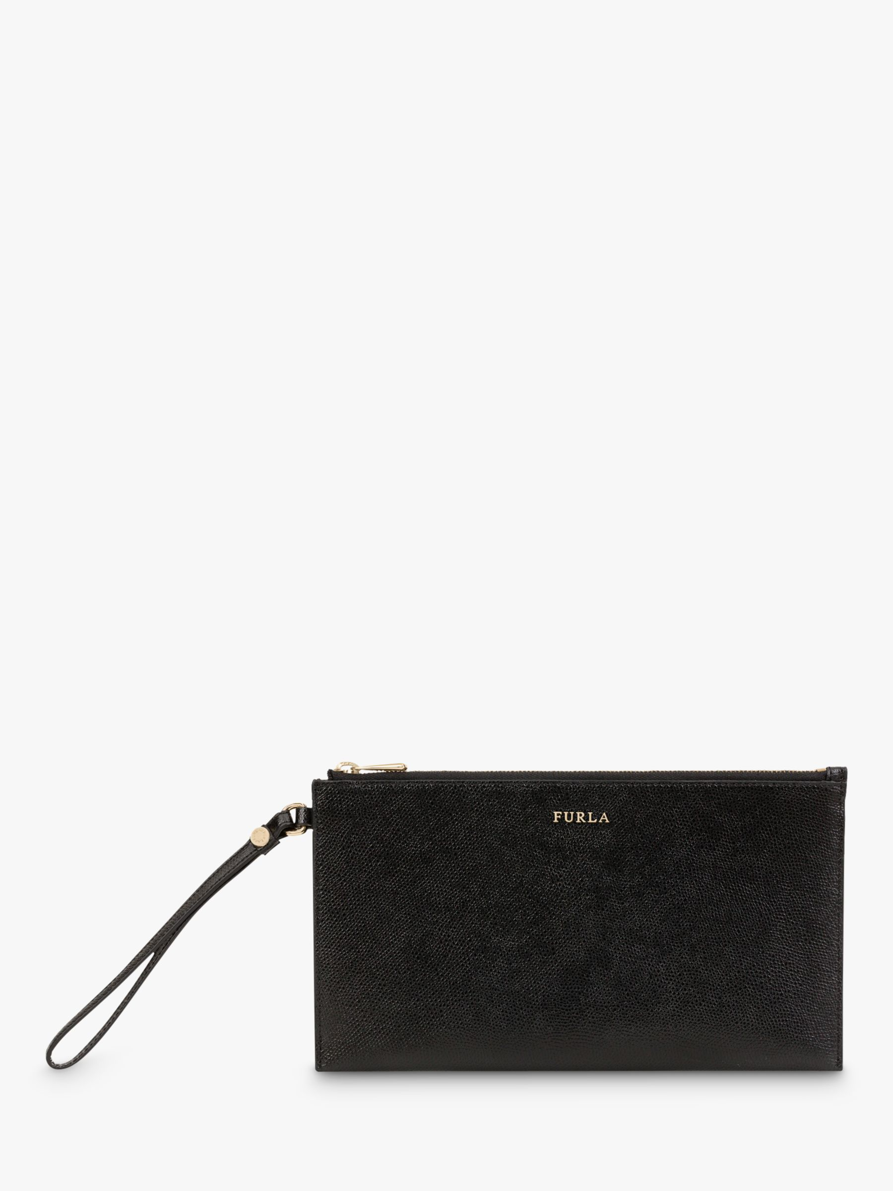 Furla Furla Babylon Leather Zip Pouch Purse