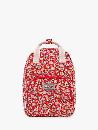 Cath Kids Children's Strawberry Flowers Medium Backpack, Red