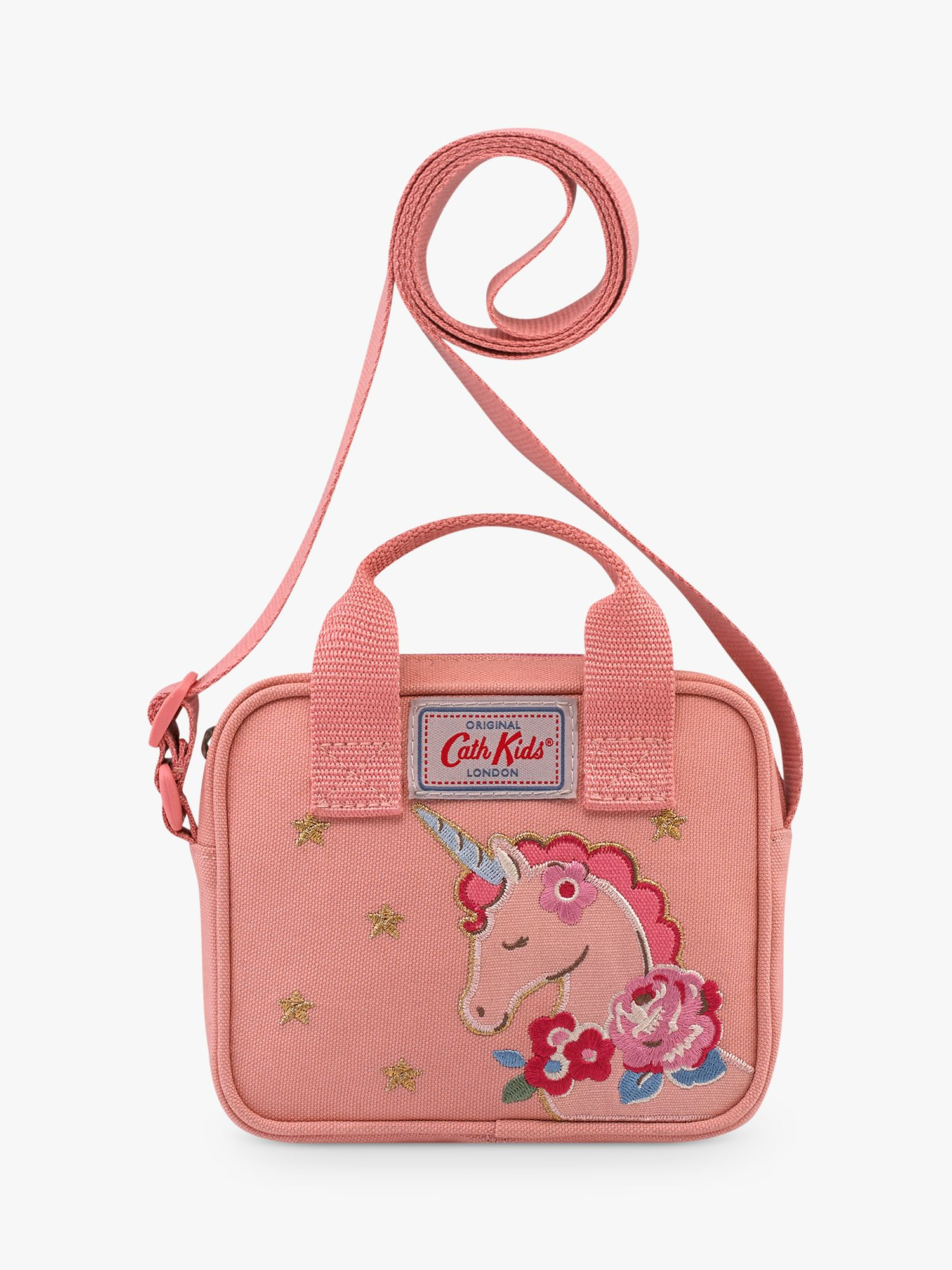Cath Kidston Cath Kidston Unicorn Meadow Cross Body Handbag, Pink
