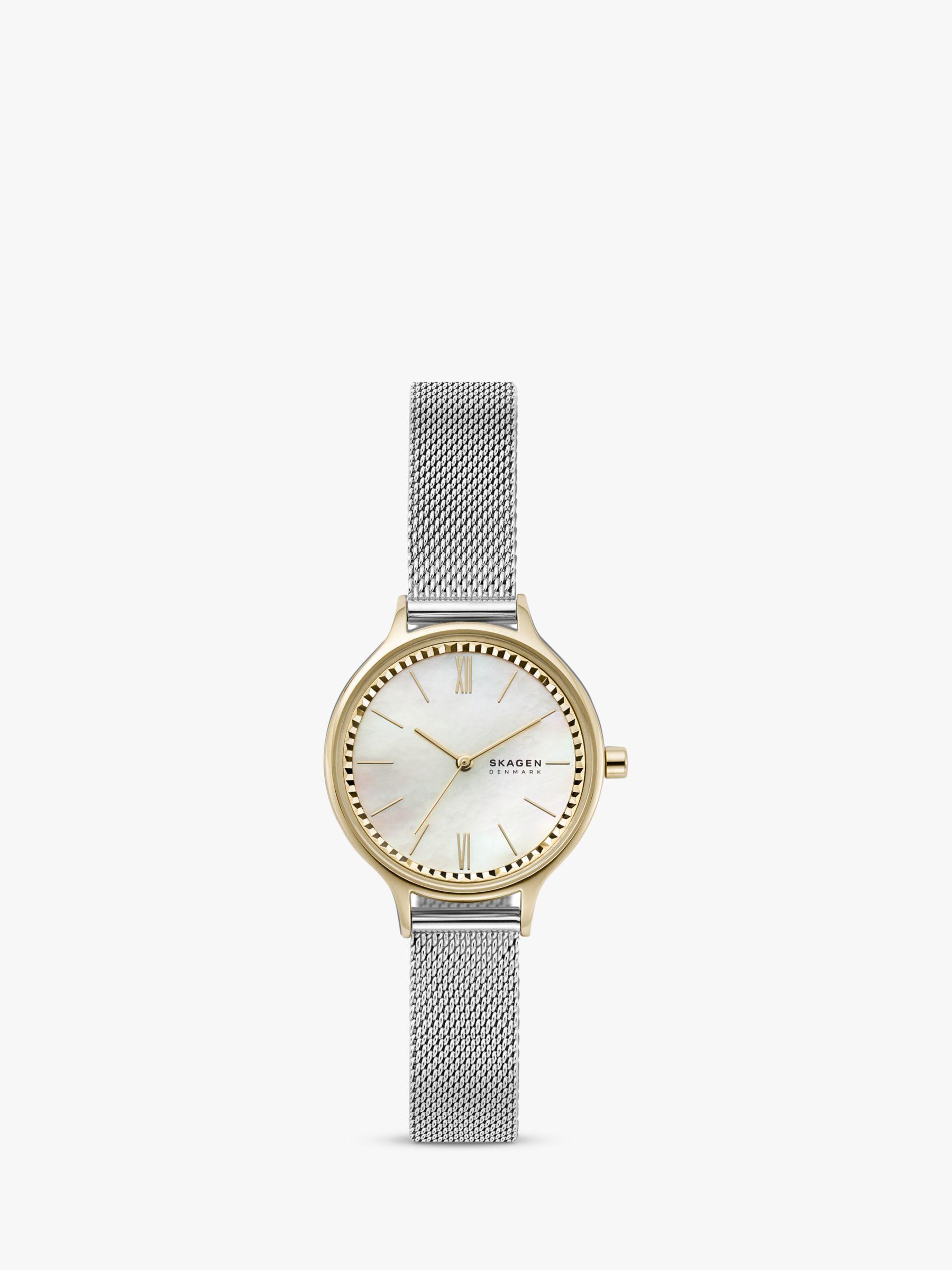 skagen Skagen Women's Anita Mesh Bracelet Strap Watch
