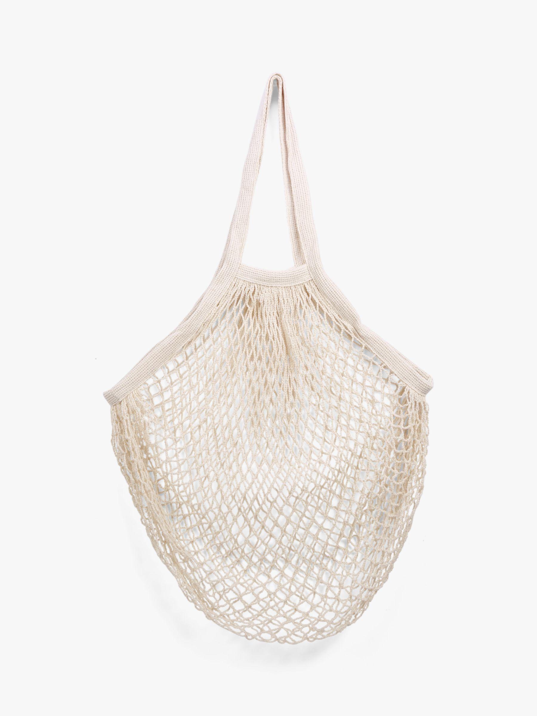 Kikkerland Kikkerland Cotton Reusable Fruit & Vegetable Market Bag, Assorted