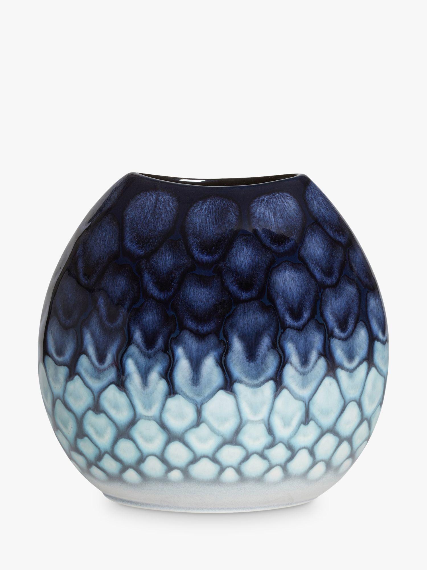 Poole Pottery Poole Pottery Ocean Purse Vase, H20cm