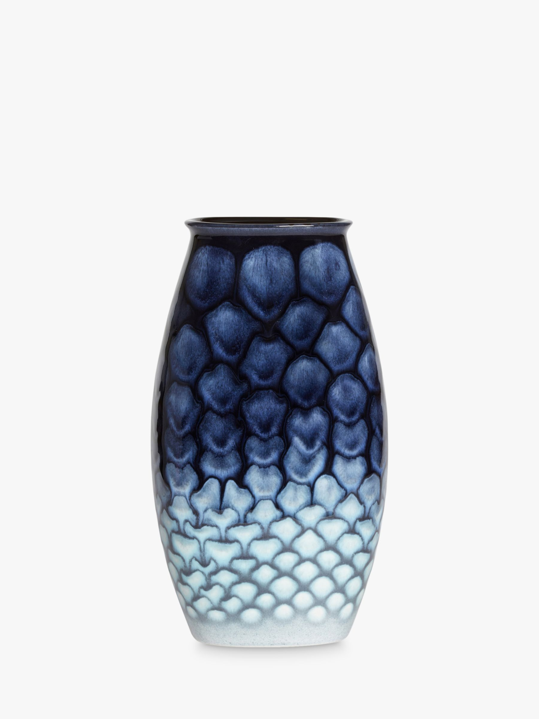 Poole Pottery Poole Pottery Ocean Manhattan Vase, H26cm