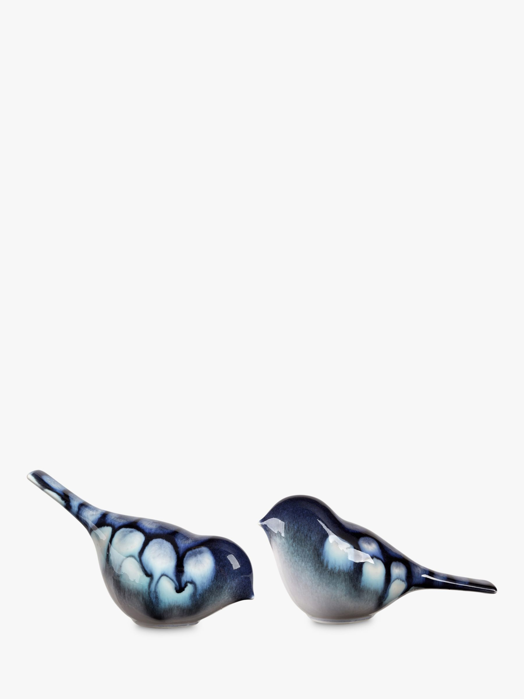 Poole Pottery Poole Pottery Ocean Bird Ornament, Set of 2