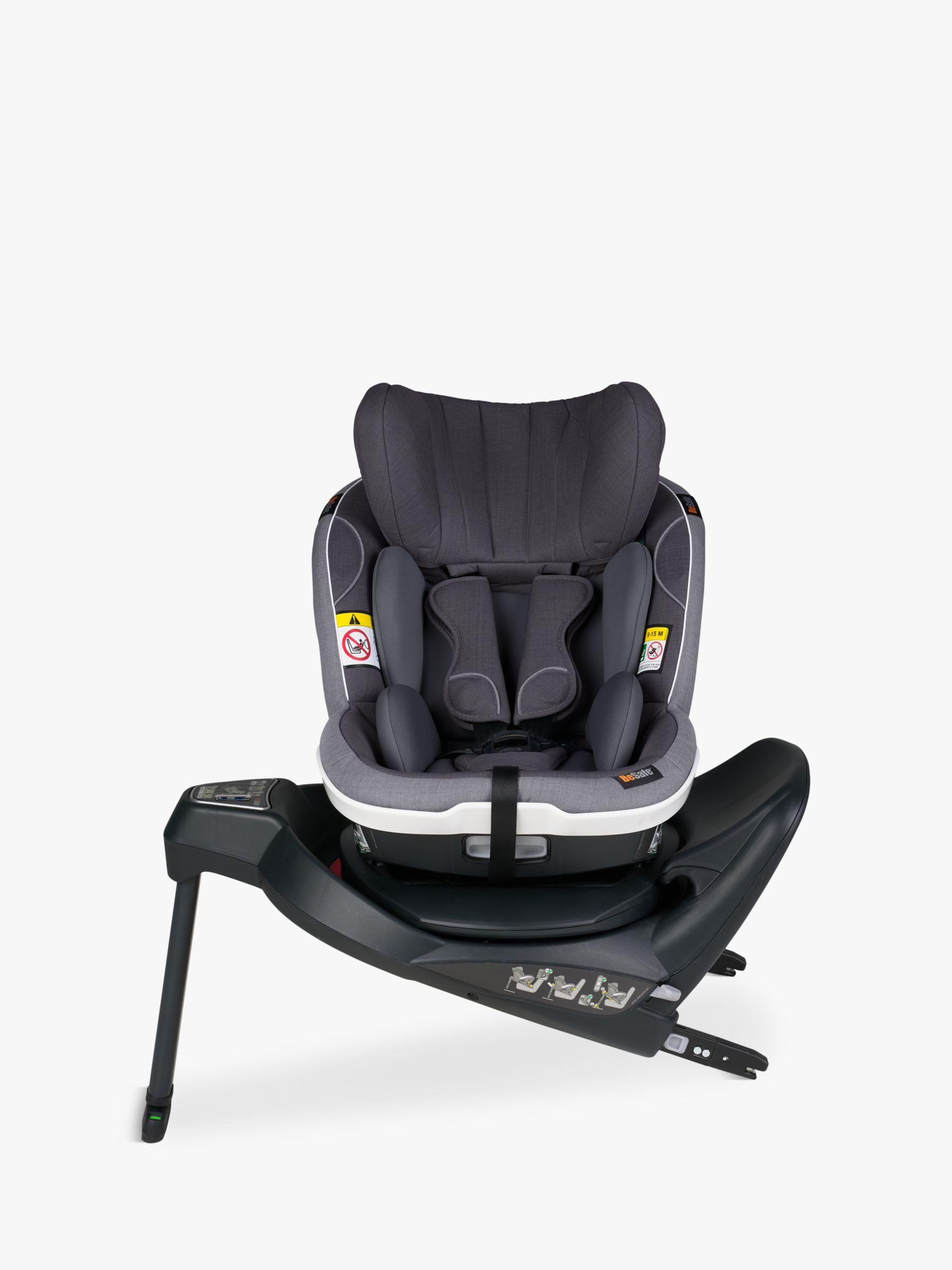 BeSafe BeSafe iZi Turn i-Size Group 1 Car Seat, Metallic Melange