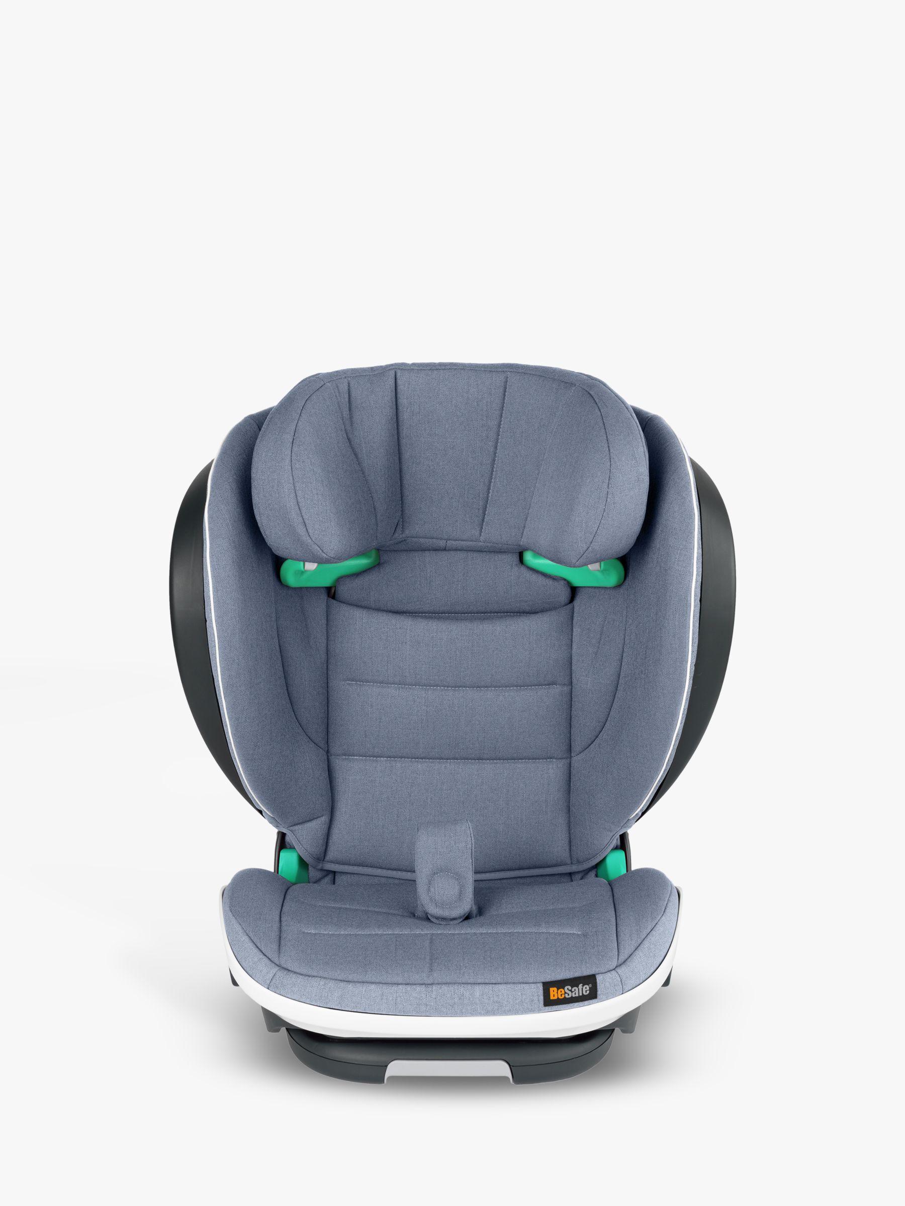 BeSafe BeSafe iZi Flex FIX i-Size High-Back Booster Group 2/3 Car Seat, Cloud Melange