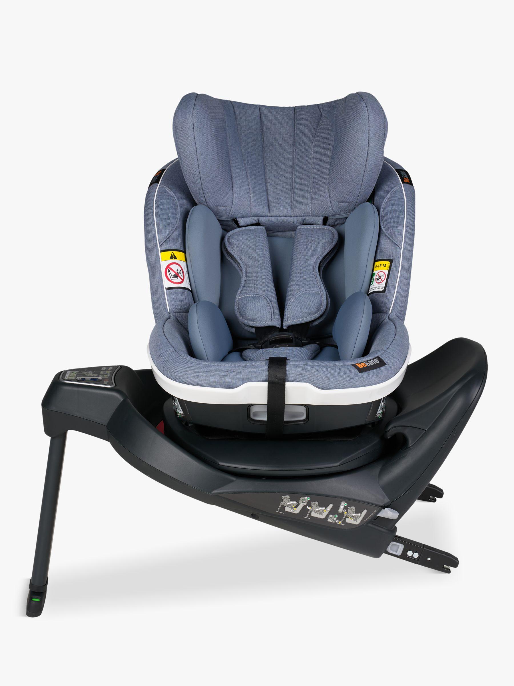 BeSafe BeSafe iZi Turn i-Size Group 1 Car Seat, Cloud Melange