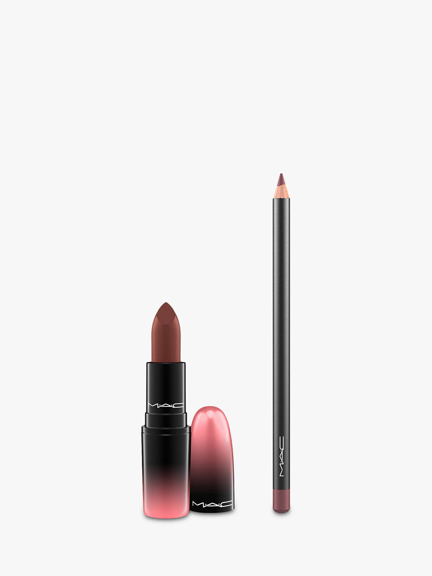 Buy MAC Coffee & Cigs Lipstick & Lip Pencil Bundle Online at johnlewis.com