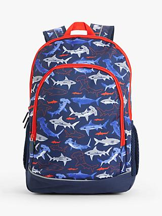 John Lewis & Partners Shark Children's Backpack