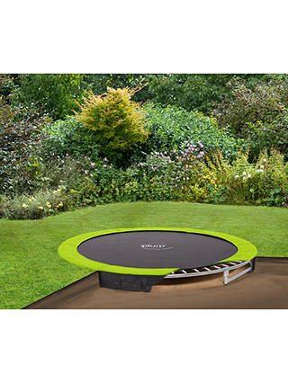 Plum 12ft In Ground Trampoline With Net, In Ground Trampoline Cost