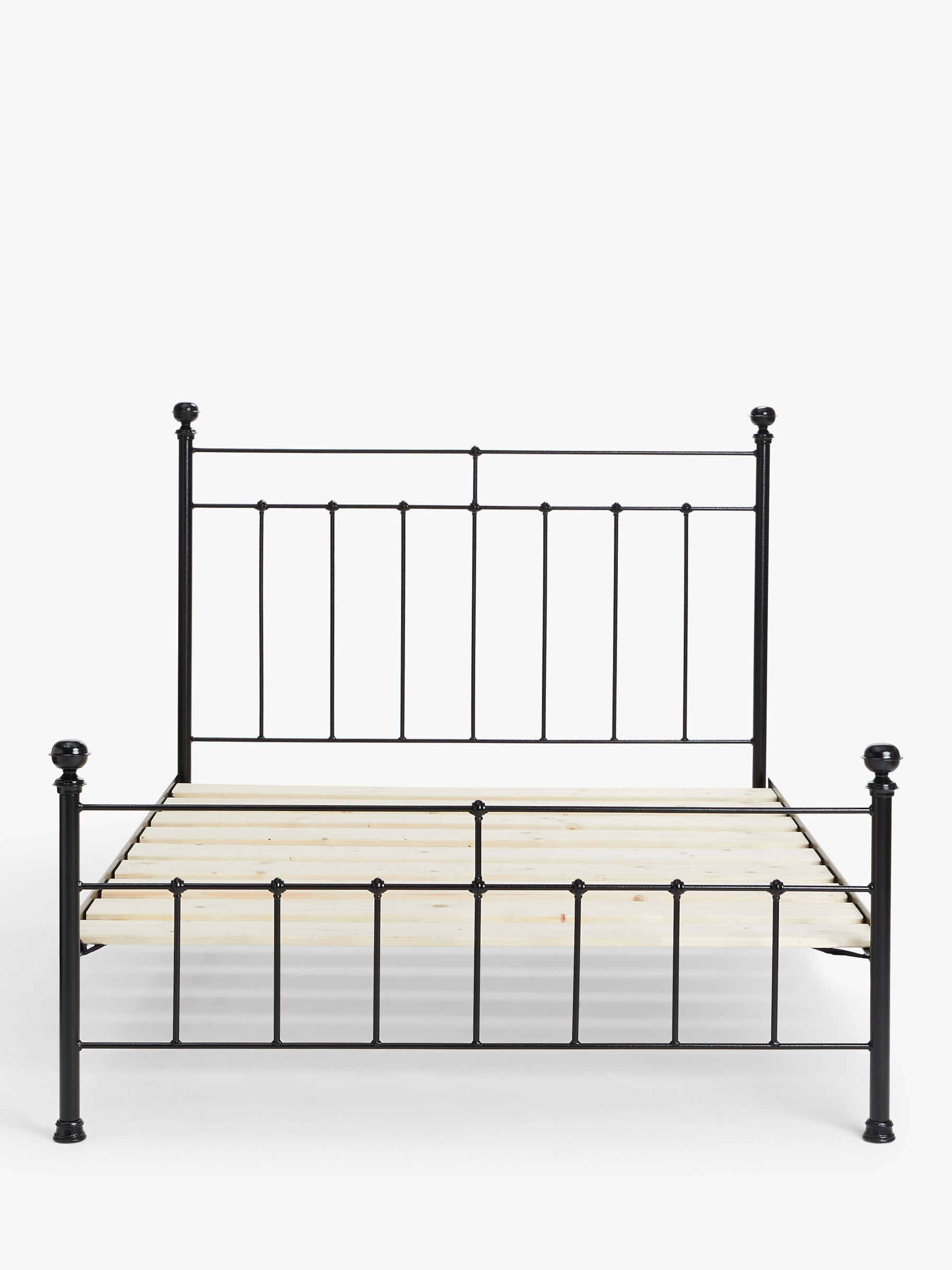 Picture of: Wrought Iron And Brass Bed Co Sophie Iron Bed Frame Super King Size At John Lewis Partners