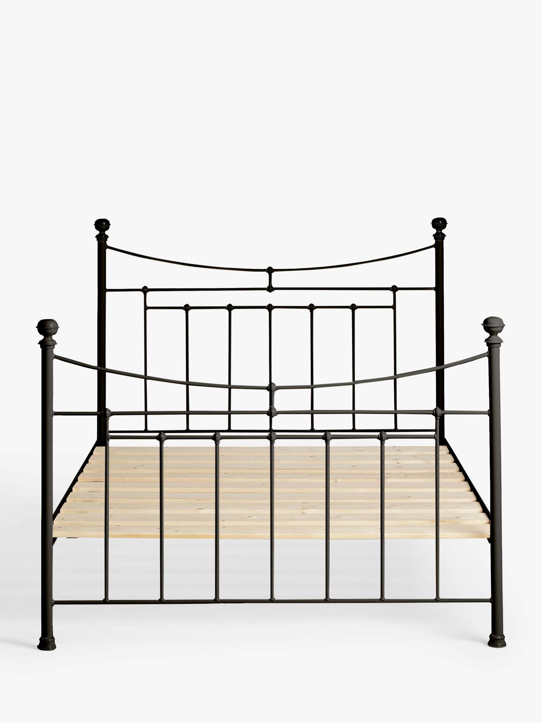 Picture of: Wrought Iron And Brass Bed Co Lily Iron Bed Frame Double At John Lewis Partners