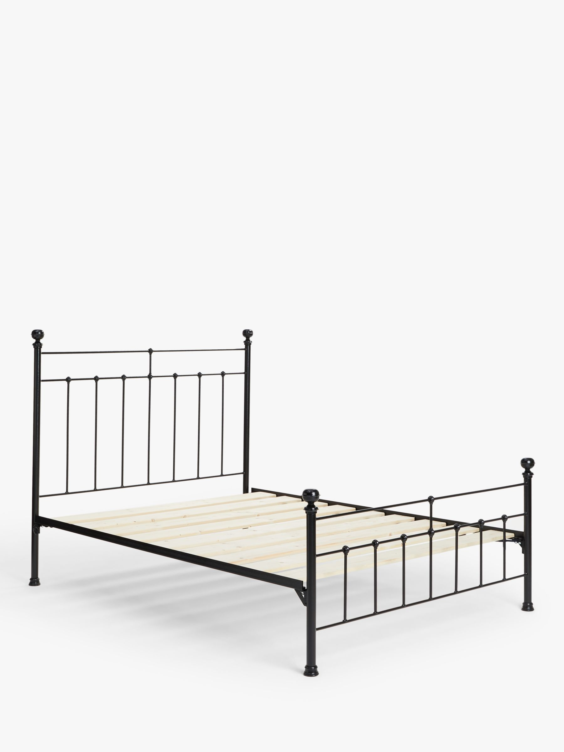 Wrought Iron And Brass Bed Co Sophie Iron Bed Frame King Size At John Lewis Partners