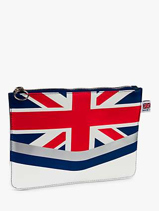 Jacks & Co Union Flag Clutch Bag