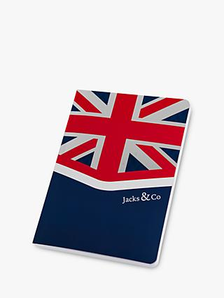 Jacks & Co A5 Union Flag Notebook