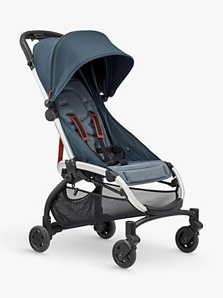 Quinny LDN Pushchair, Graphite Twist and Maxi-Cosi CabrioFix Car Seat, Essential Black bundle