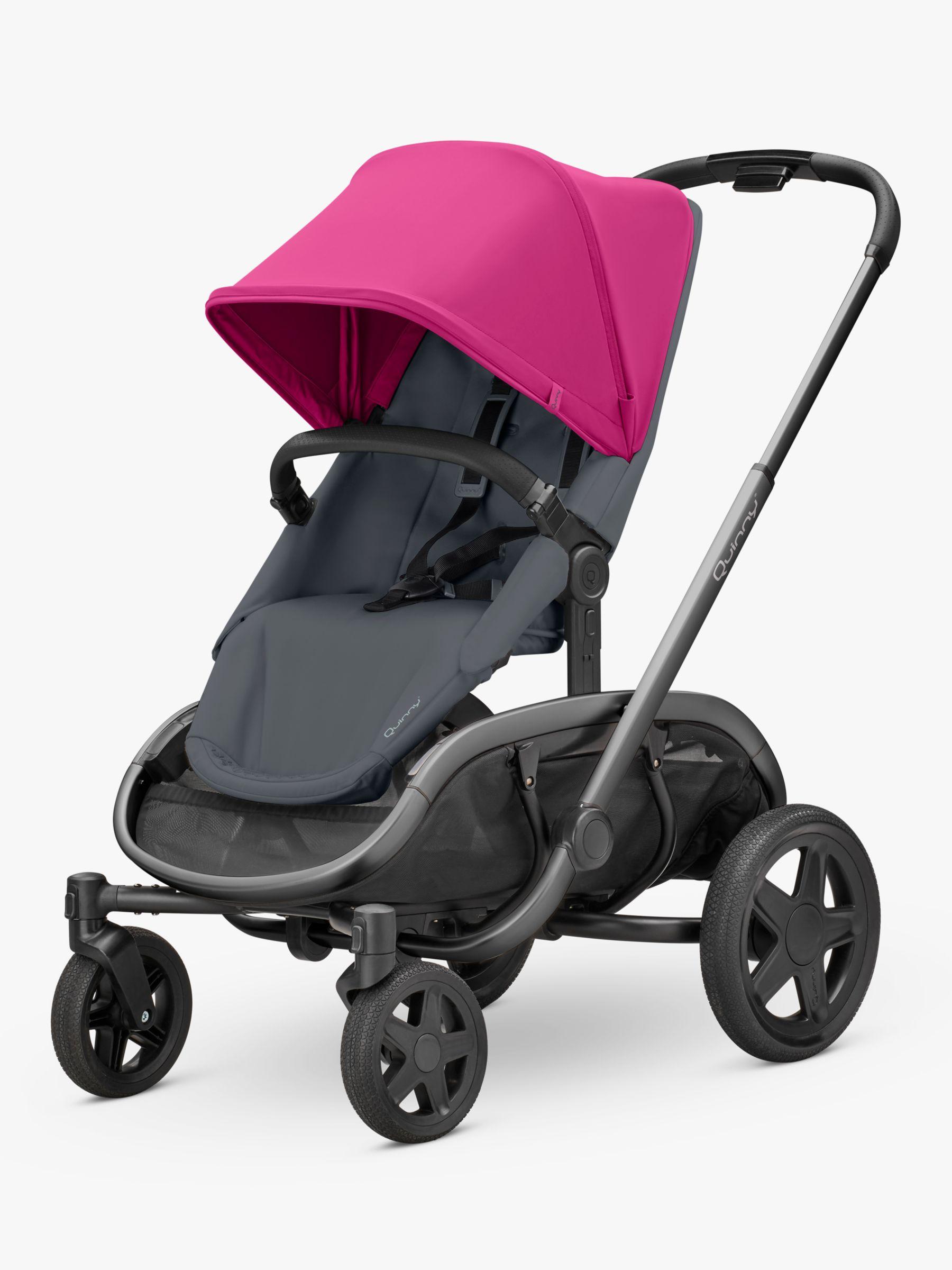 Quinny Quinny Hubb Mono Pushchair, Pink/Graphite