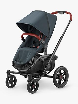 Quinny VNC Pushchair, Graphite Twist and Maxi-Cosi CabrioFix Car Seat, Essential Black bundle