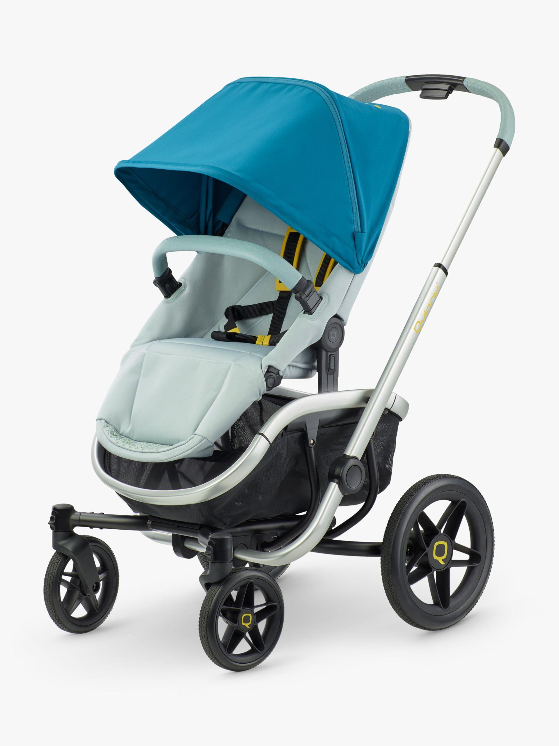 Quinny Quinny VNC Pushchair, Grey/Blue