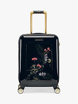 Ted Baker Hiela Highland 54cm 4-Wheel Cabin Case, Black