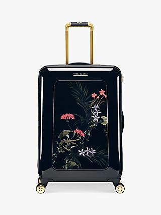Ted Baker Heerlo Highland 69cm 4-Wheel Medium Suitcase, Black