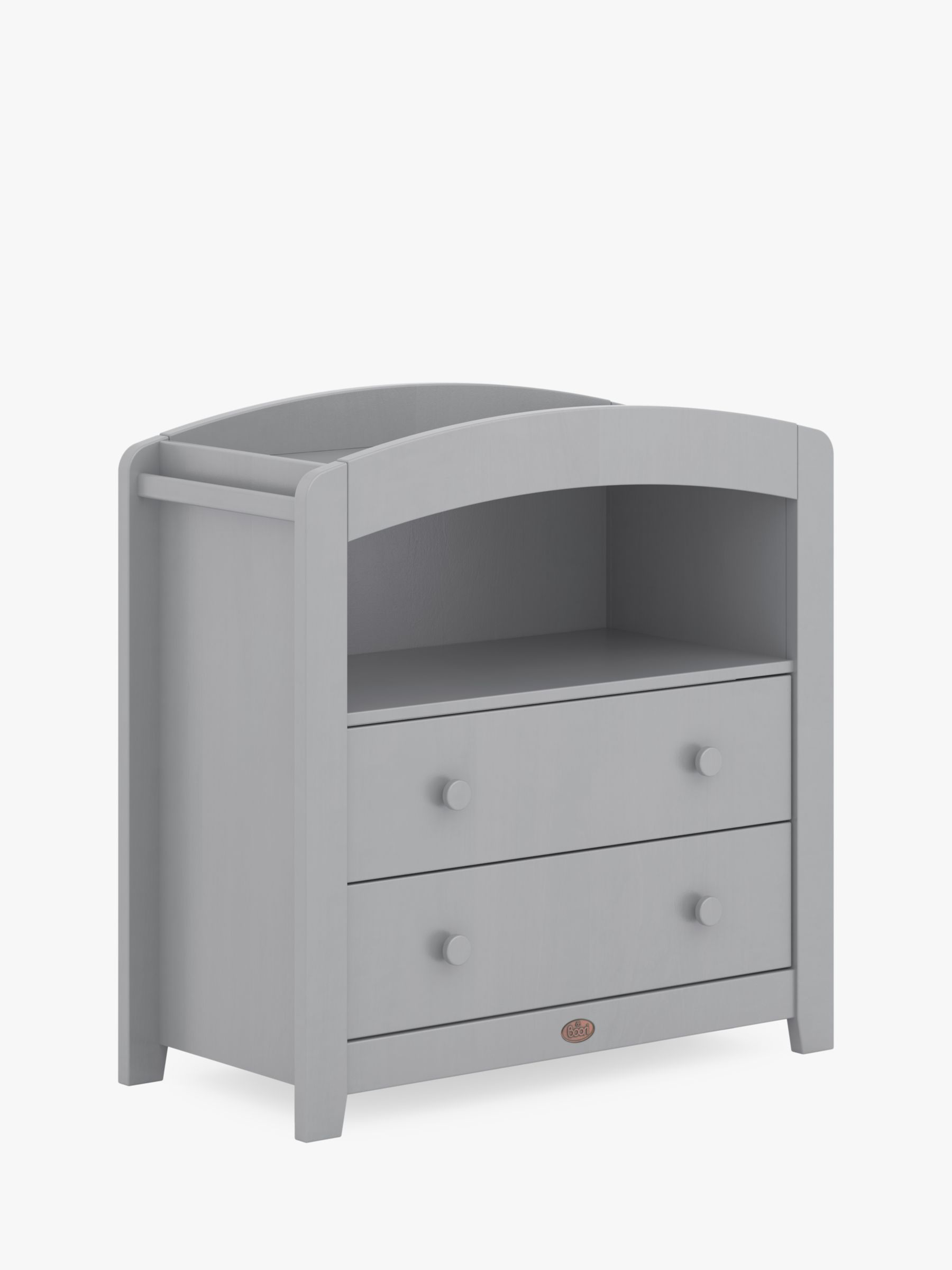 Boori Boori Alice Curved 2 Drawer Dresser, Pebble