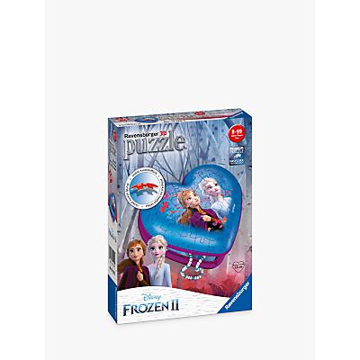 Ravensburger Disney Frozen II 3D Heart Jigsaw Puzzle, 54 Piece