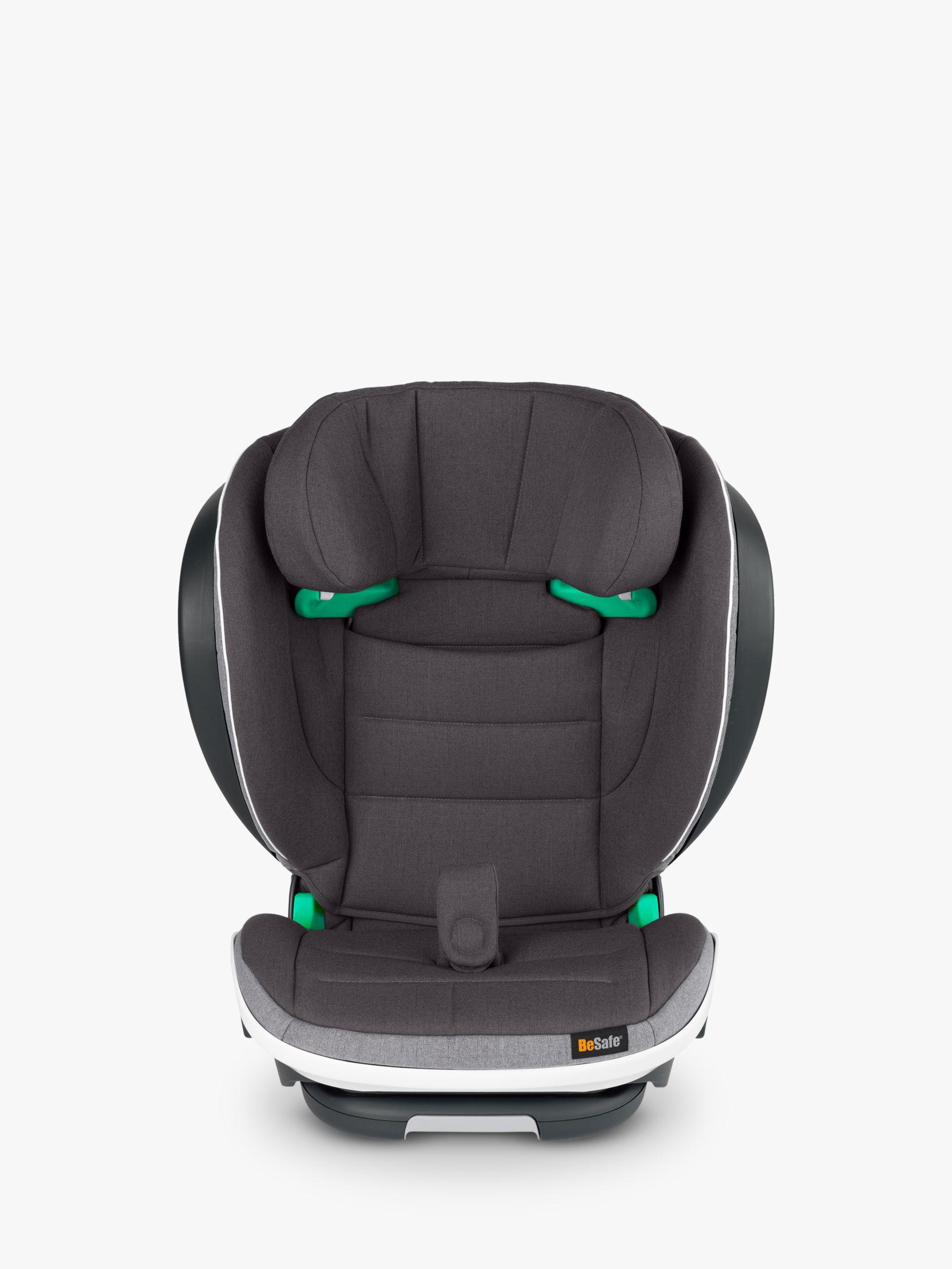 BeSafe BeSafe iZi Flex FIX i-Size High-Back Booster Group 2/3 Car Seat, Metallic Melange