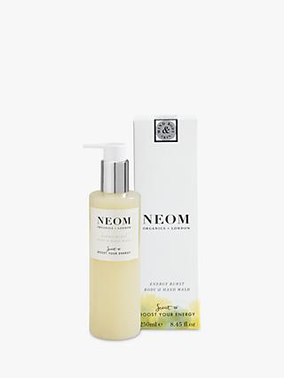Neom Organics London Energy Burst Body & Hand Wash, 250ml