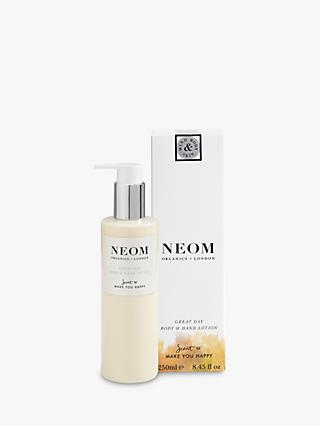 Neom Organics London Great Day Body & Hand Lotion, 250ml