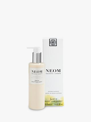 Neom Organics London Energy Burst Body & Hand Lotion, 250ml