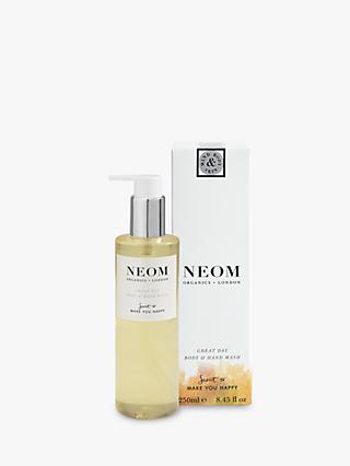 Neom Organics London Great Day Body & Hand Wash, 250ml