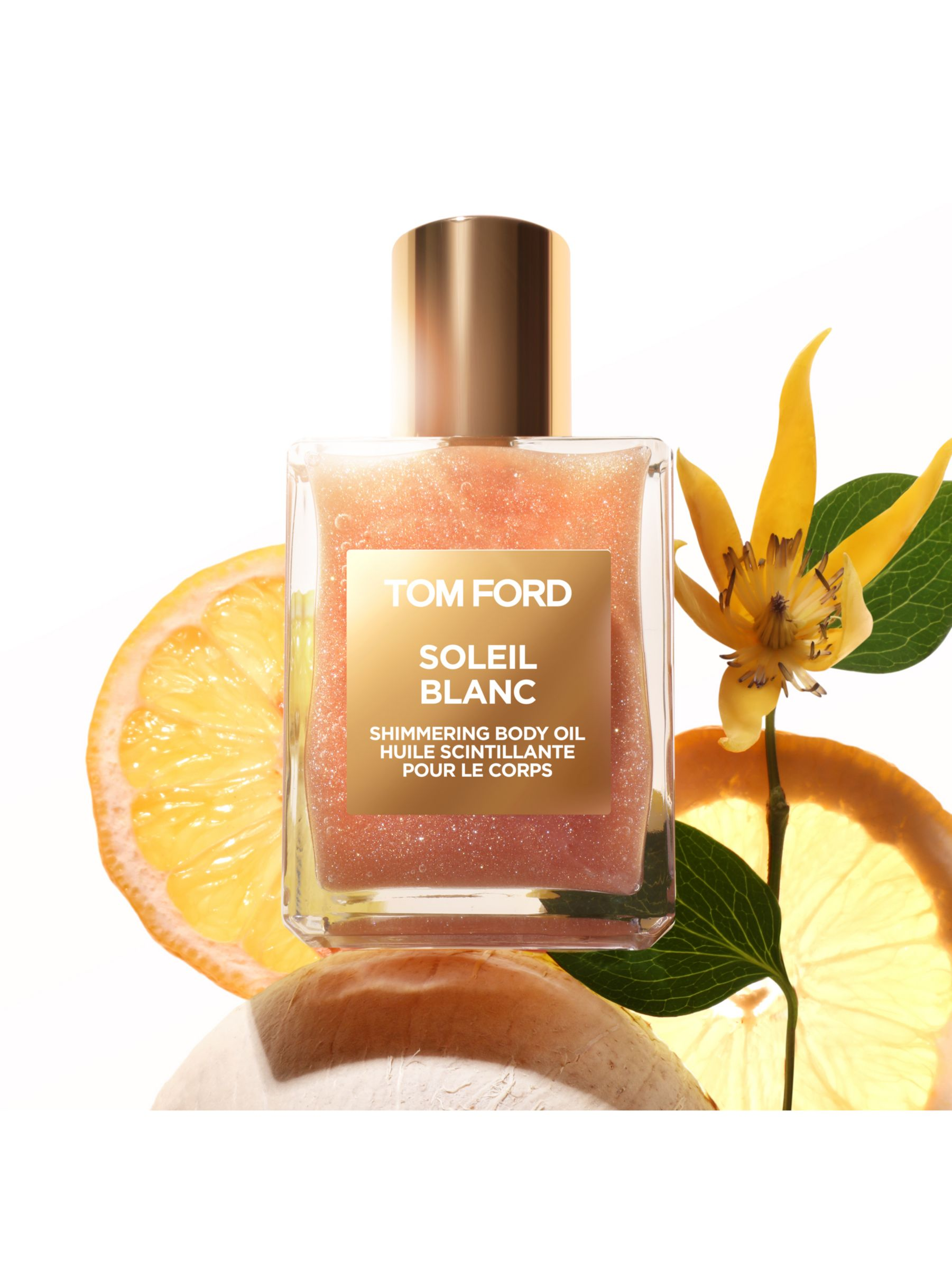Tom Ford Soleil Blanc Shimmering Body Oil 45ml At John Lewis Partners