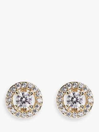 Ivory & Co. Balmoral Round Stud Earrings, Gold