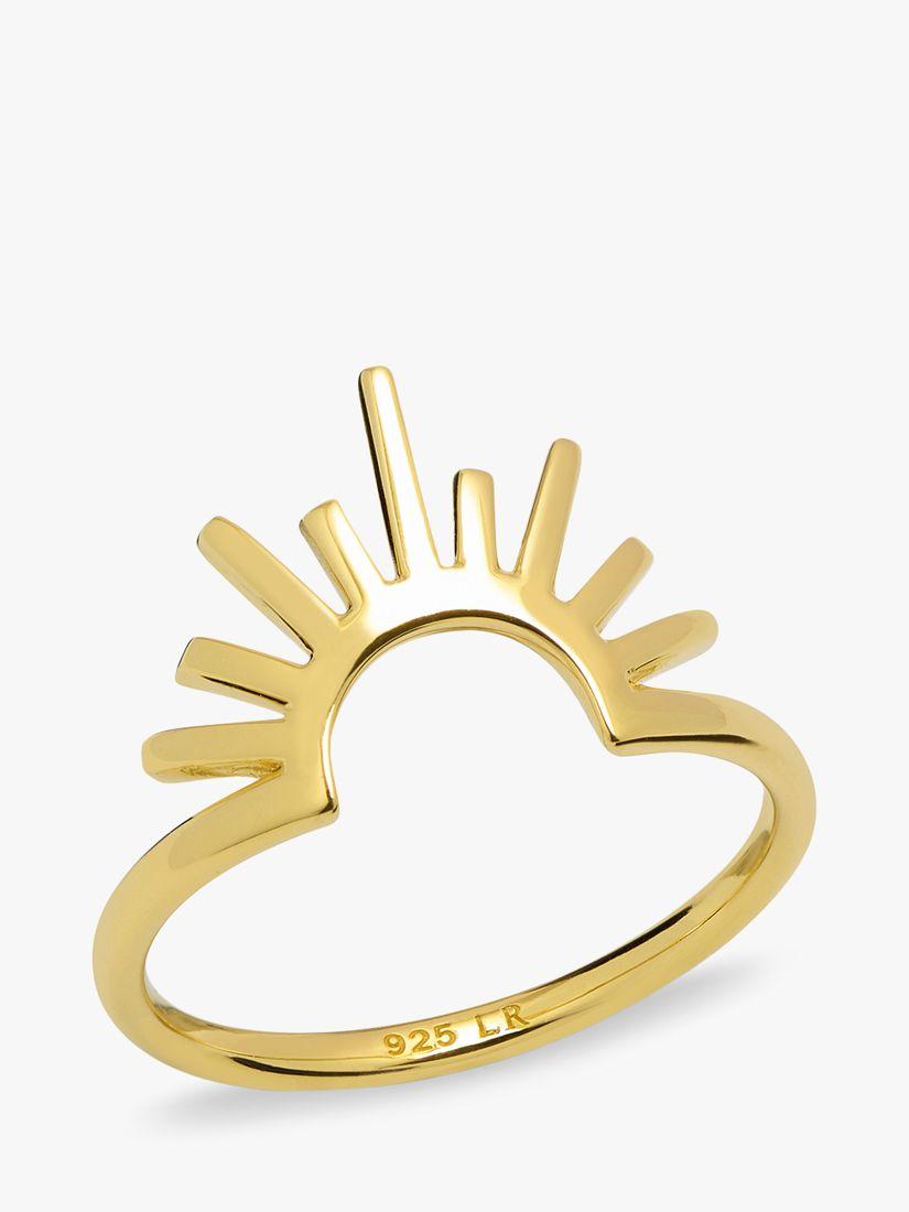 Lola Rose Lola Rose Curio Celestial Ring, Gold