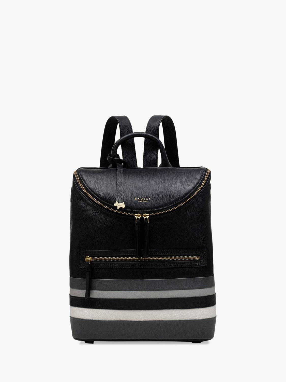 Radley Radley Crown Hill Stripe Backpack, Black