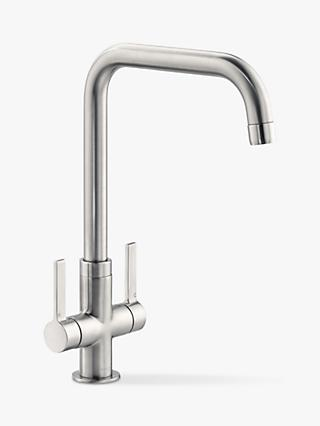 John Lewis & Partners Quad 2 Lever Kitchen Mixer Tap