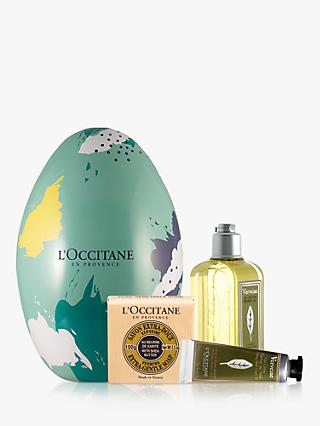 L'Occitane Refreshing Verbena Easter Egg Bodycare Gift Set