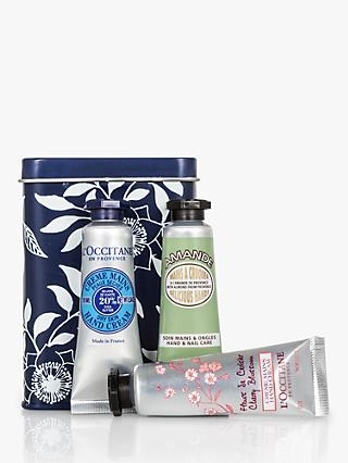 L'Occitane Petite Hand Cream Trio Bodycare Gift Set, 3 x 10ml