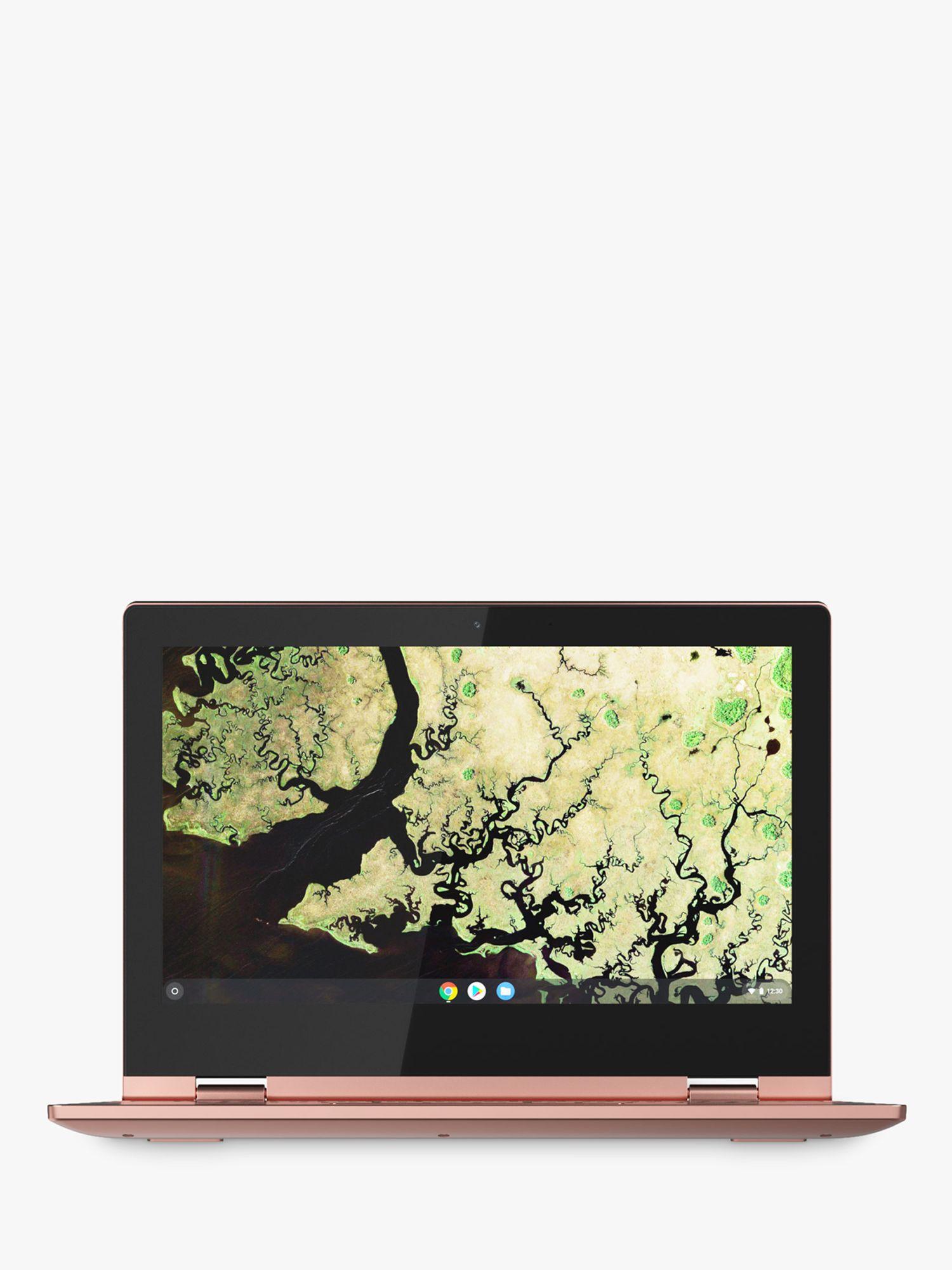 Lenovo Lenovo C340-11 Chromebook, Intel Celeron, 4G RAM, 32GB eMMC, 11.6, Sand Pink