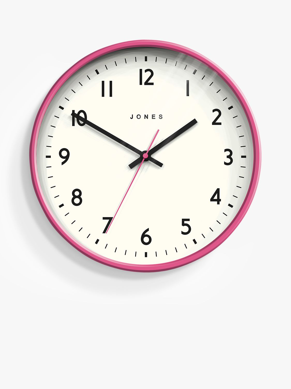 Jones Clocks Jones Clocks Jam Analogue Wall Clock, 30cm