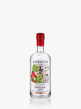 Sipsmith Chilli & Lime Gin, 70cl