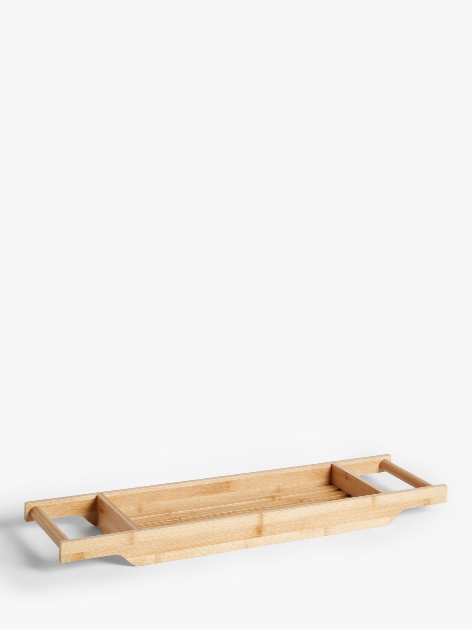 ANYDAY John Lewis & Partners Bamboo Bath Rack