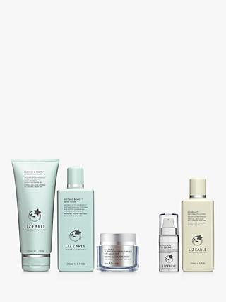 Liz Earle Cleanse & Polish™ 200ml, Instant Boost™ Skin Tonic and Moisturiser Neroli Bundle with Gift